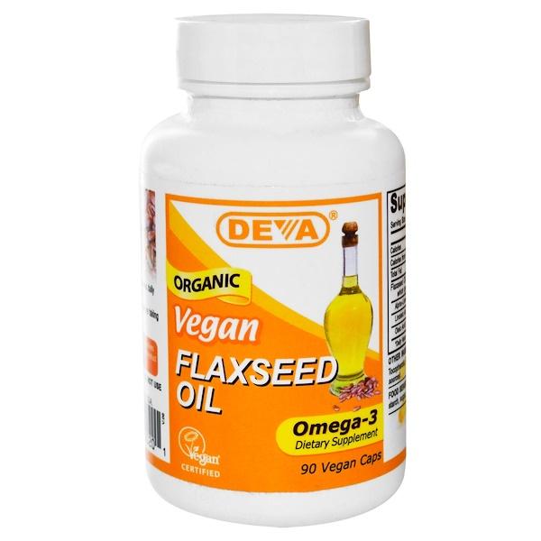 DEVA flaxseed oil