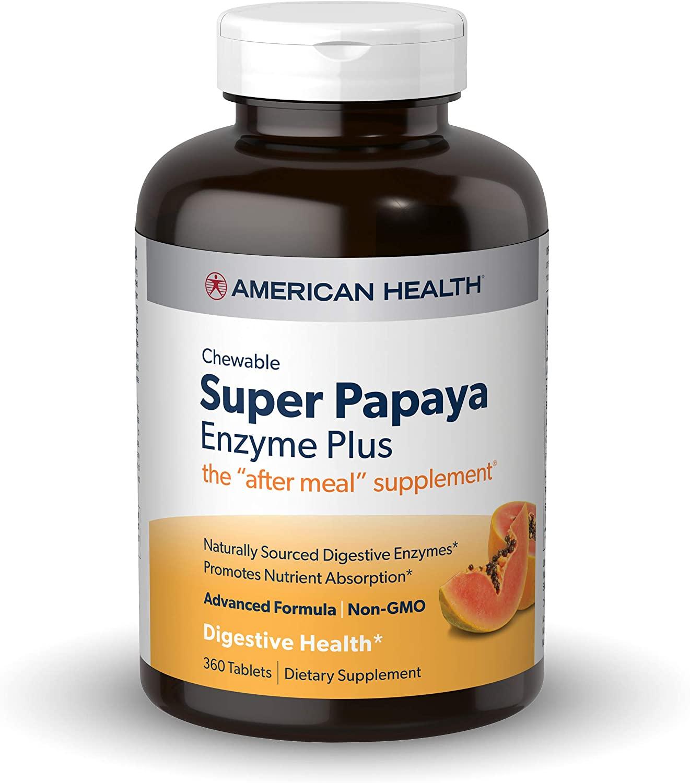 american health papaya enzyme