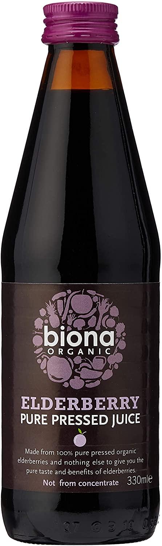 biona elderberry pressed juice
