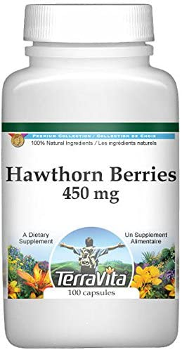 hawthorn berries 450mg