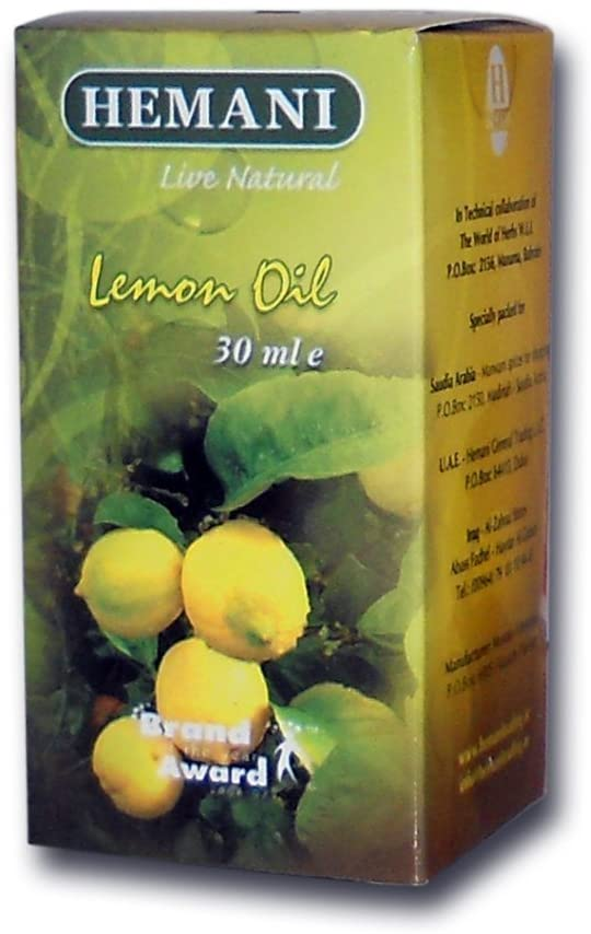 hemani lemon oil