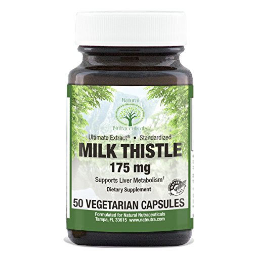 milk thistle 50 vegetarian capsules