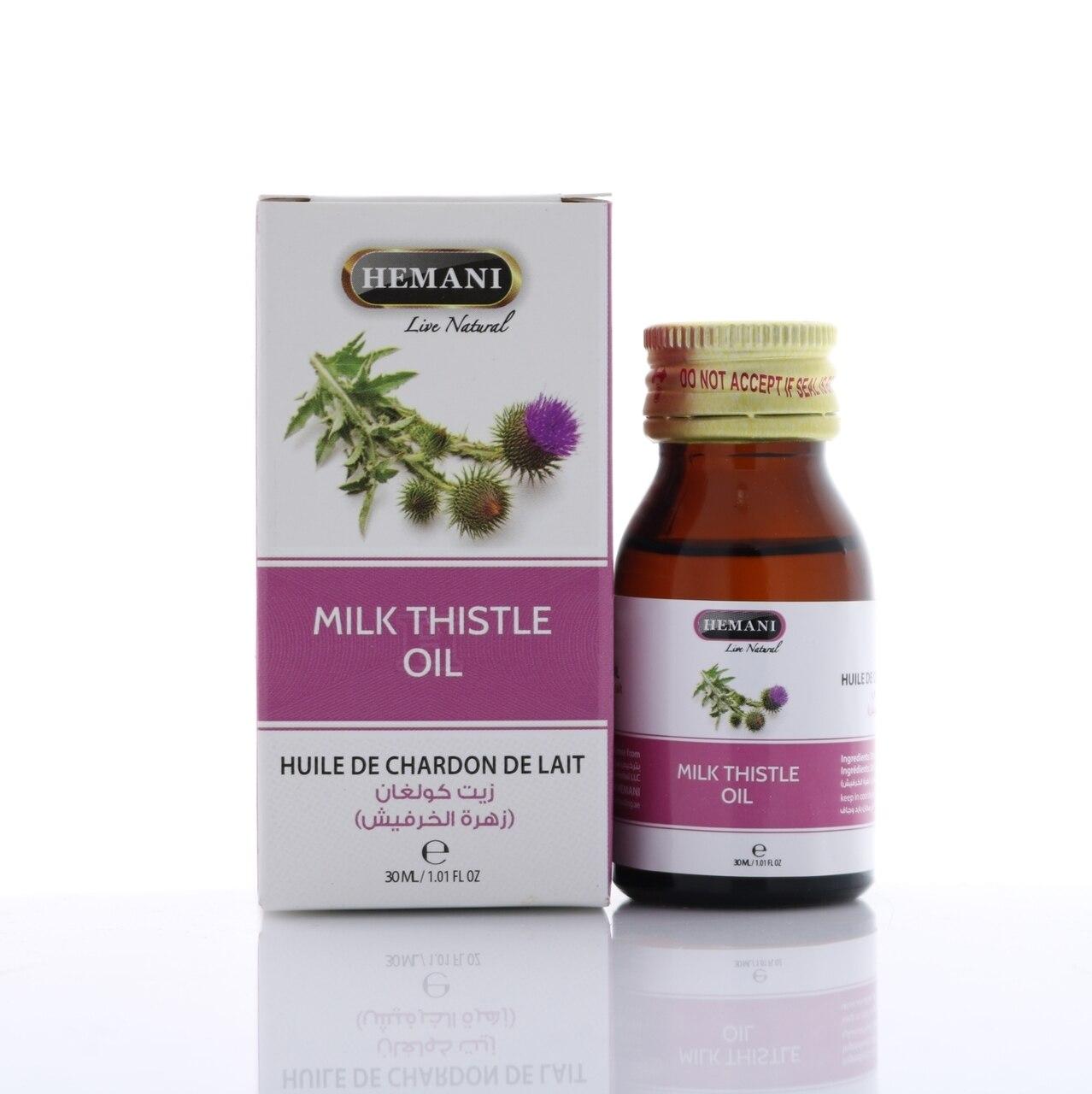 milk thistle oil hermani
