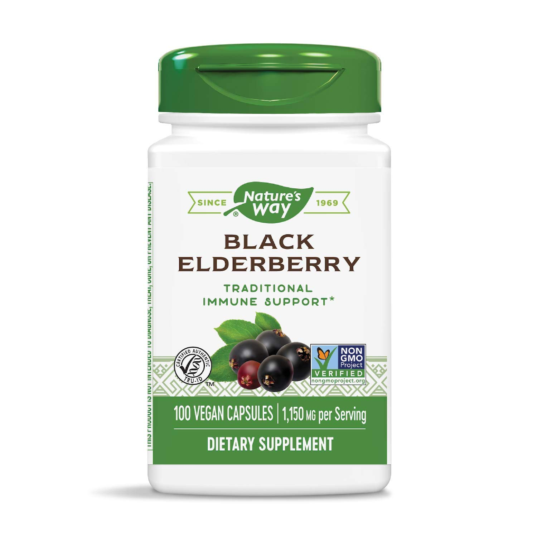 nature's way elderberry capsules