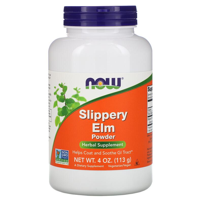 now slippery elm powder