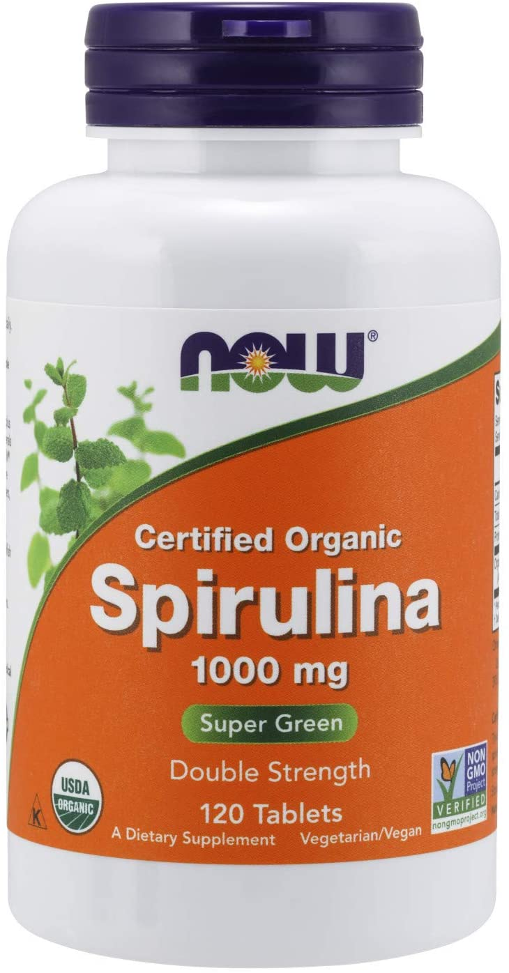 now spirulina double strength