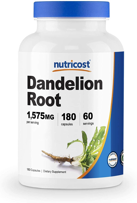 nuticost dandelion root