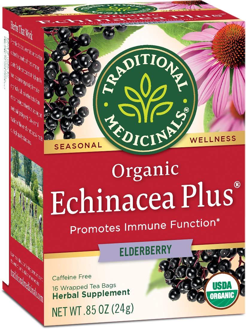 organic echinacea plus promotes immune function