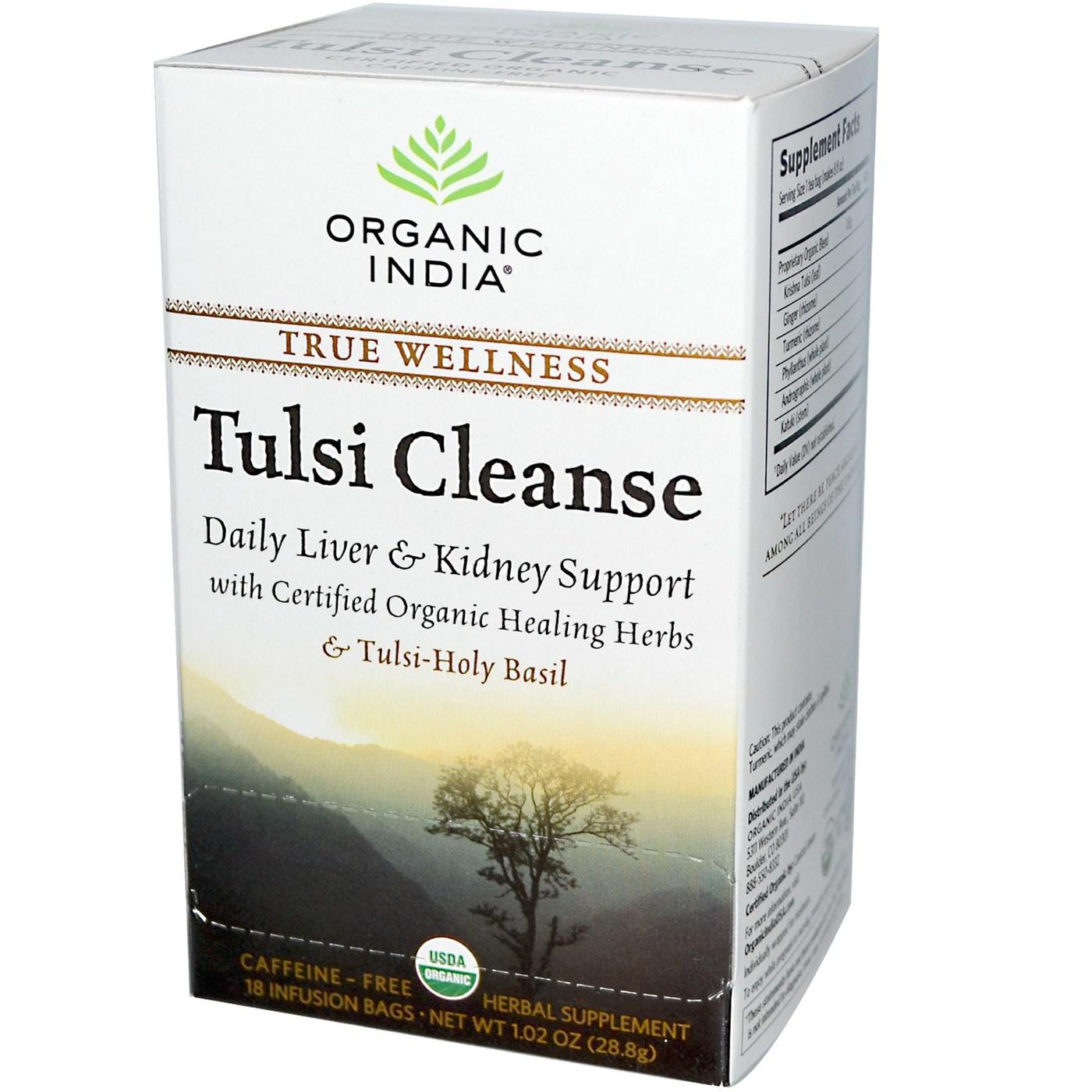 organic india tulsi cleanse
