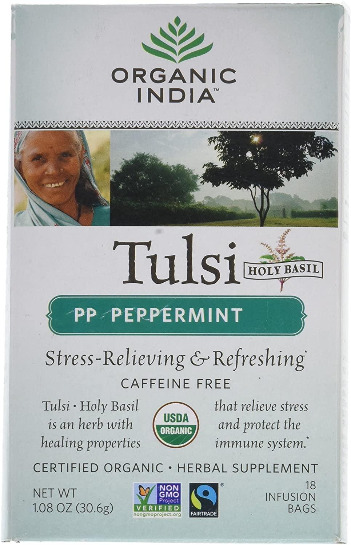 organic india tulsi peppermint