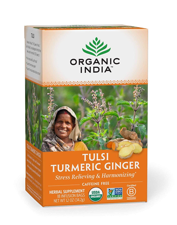 organic india tulsi tumeric ginger