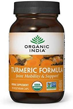 organic india tumeric formula 90cap