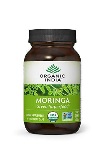 organic moringa 90m capsules