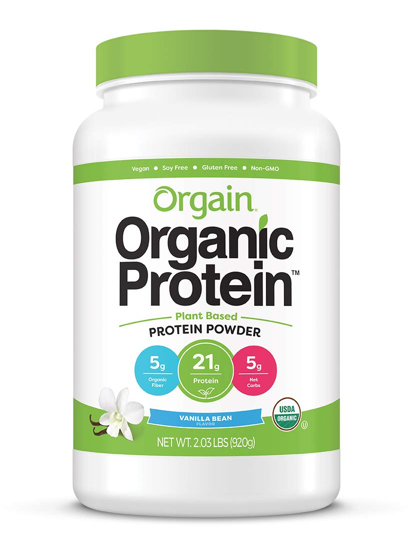 organic protein plant based protein powder