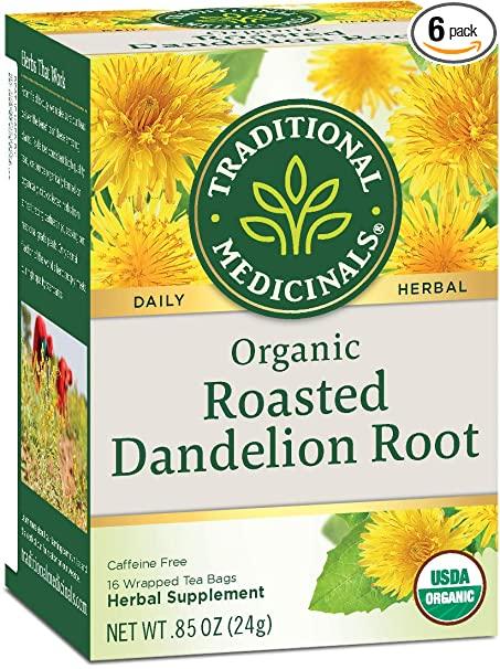 organic roasted dandelion root