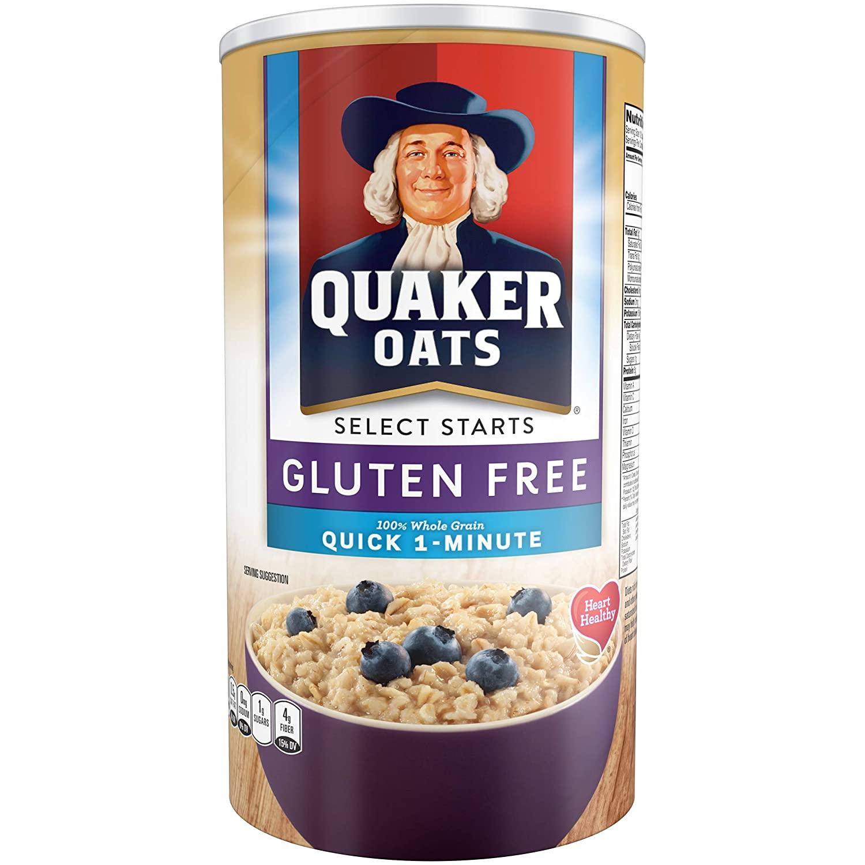 quaker oats gluten free