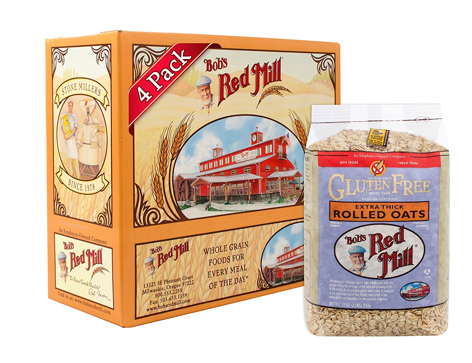 redmill rolled oats