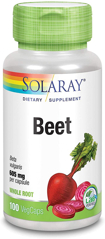 solaray beet root 605mg