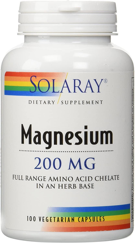 solaray magnesium 200mg