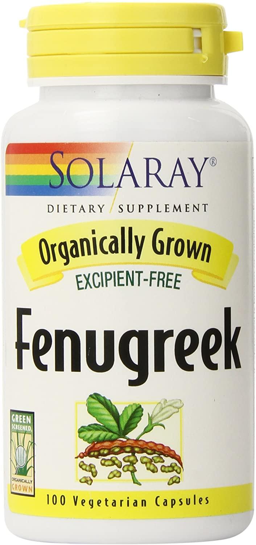 solaray organically grown fenugreek