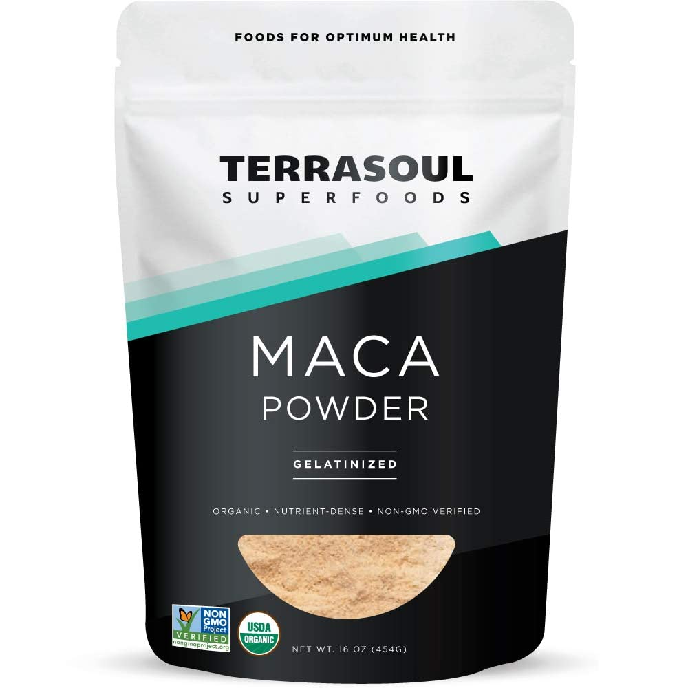 terrasoul maca powder gelatinized