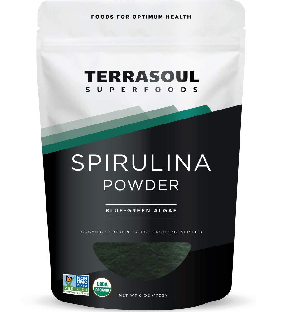 terrasoul spirulina powder